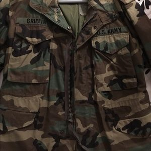 US issued Army Military jacket